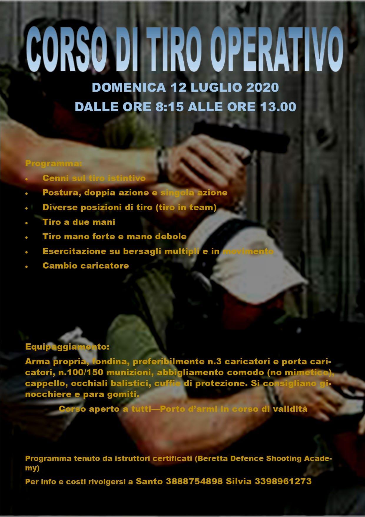 120720 Corso Tiro Operativo