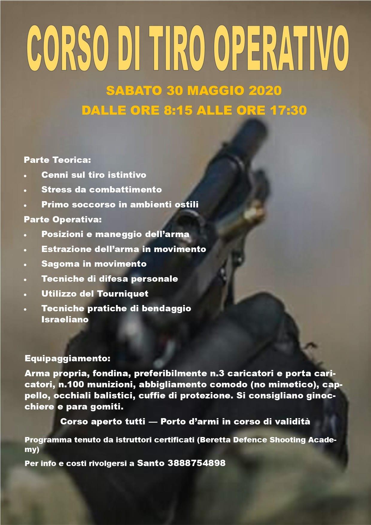 300520 Corso Tiro Operativo